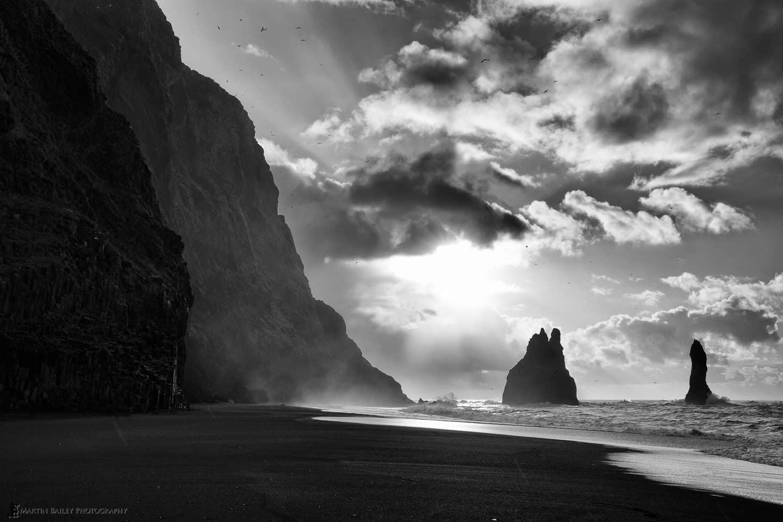 Basalt Cliffs and Sea Stacks
