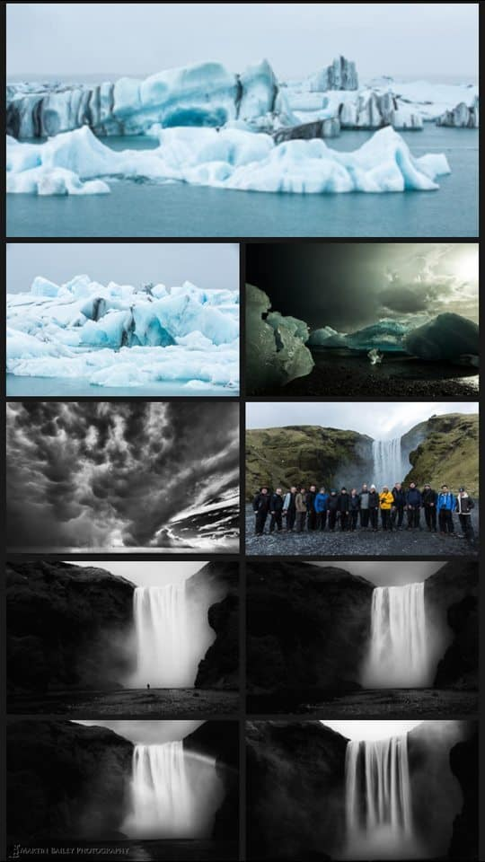 Iceland Collection in Lightroom Mobile
