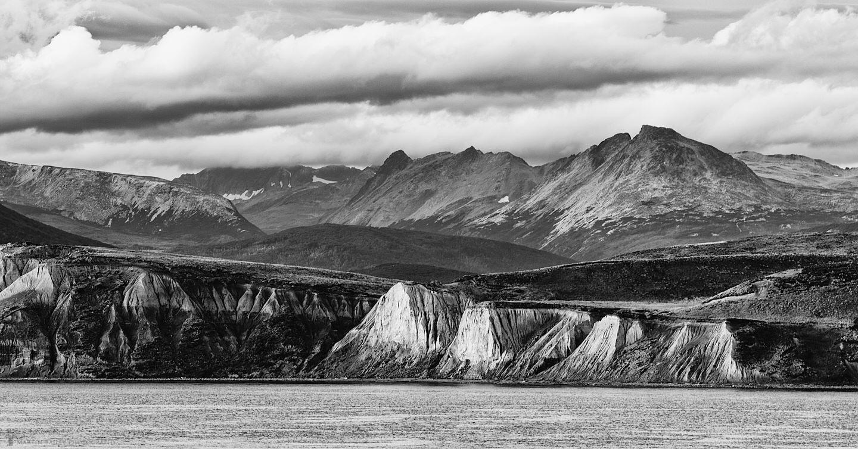 Cliffs Along the Beagle Channel