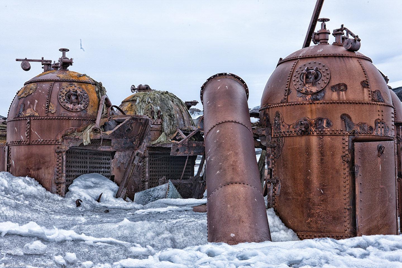 Deception Island Blubber Boilers