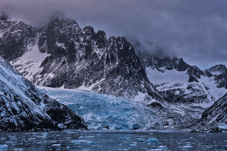 Drygalski Fjord Glacier
