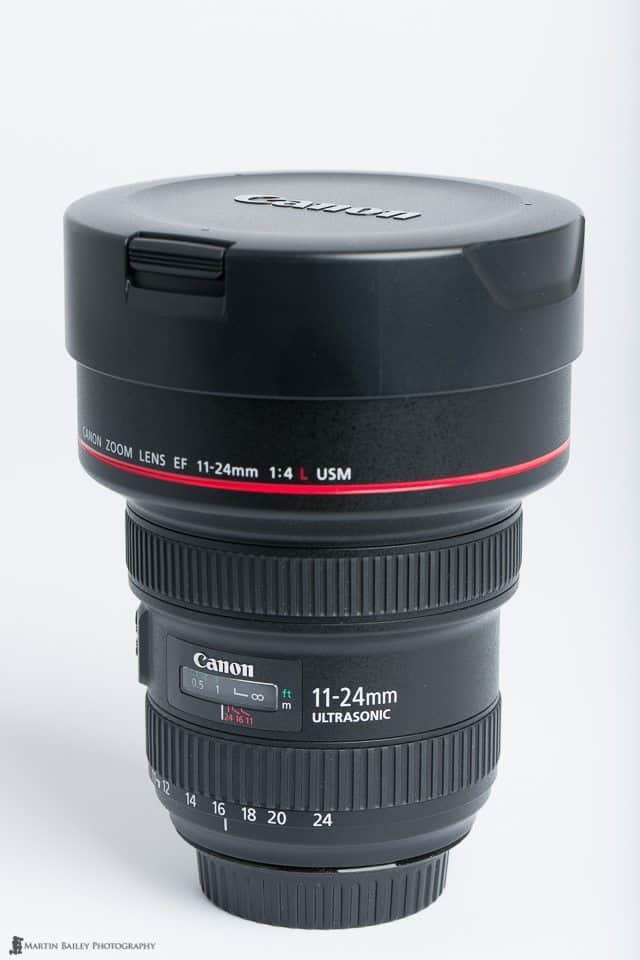Canon EF11-24mm f/4L USM Lens with Hood