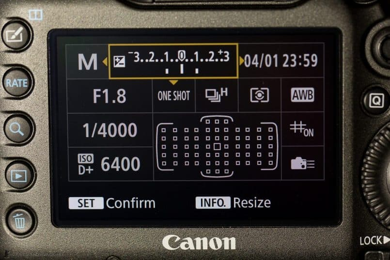Canon EOS 5Ds R - Custom Quick Control Screen