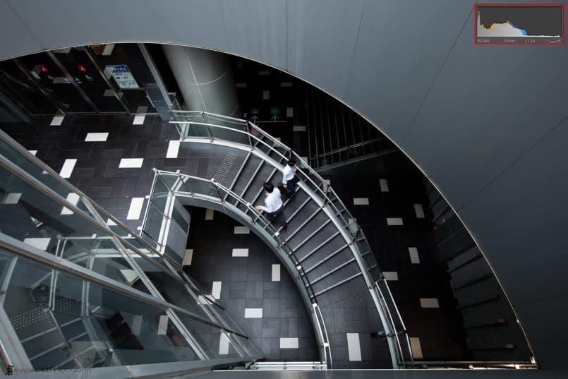 Cocoon Tower Dark Stairs