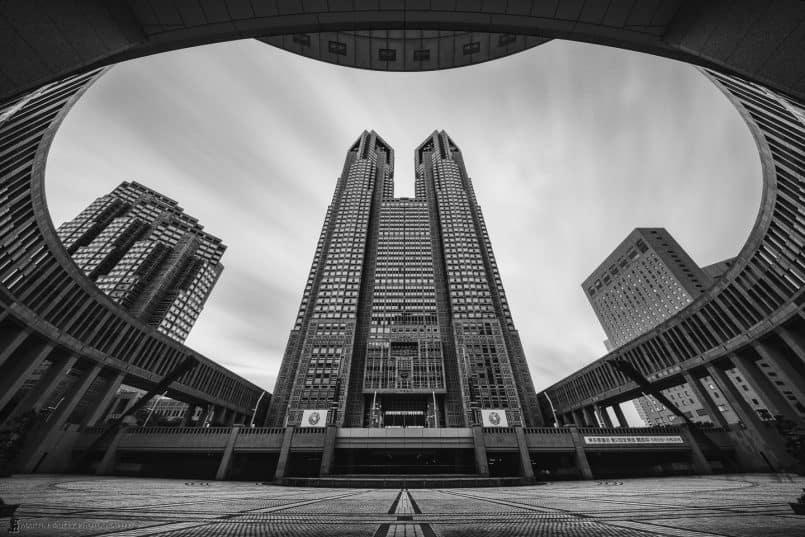 Tokyo Metropolitan Government Building (2.5 min exp)
