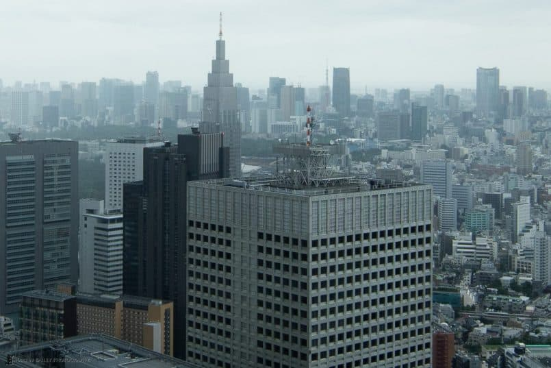 Tokyo from Metropolitan Government Building (100% Crop)
