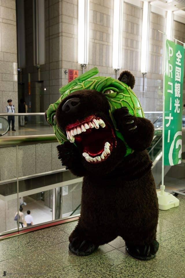 The Melon Bear (ISO 3200)