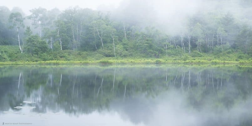 Ichinuma in the Mist (Panorama #2)