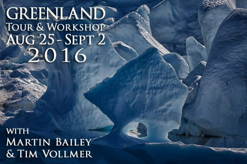 Greenland Tour & Workshop 2016