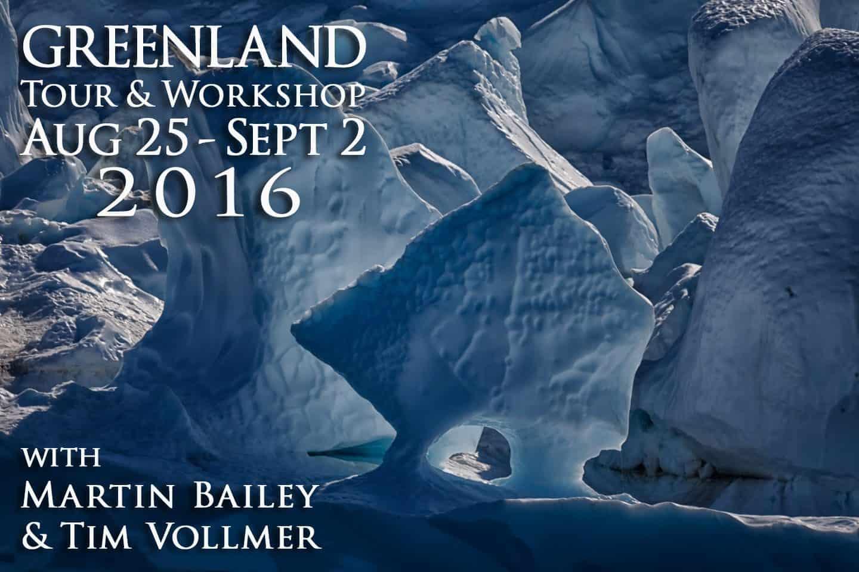 Greenland Tour & Workshop 2016