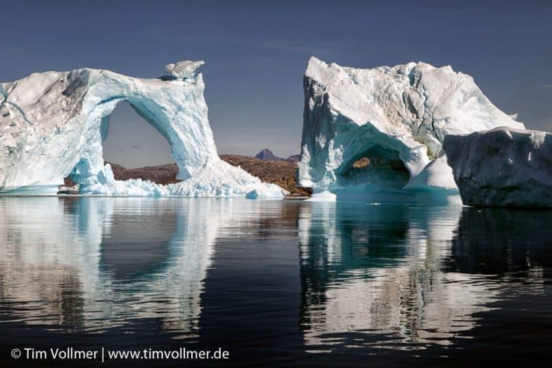 Icebergs in the Ammassalik Fjord