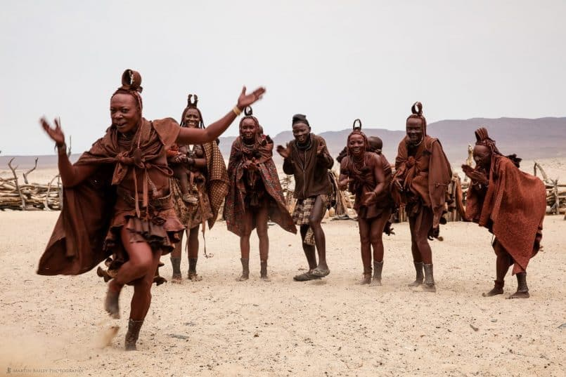 Himba People Dancing