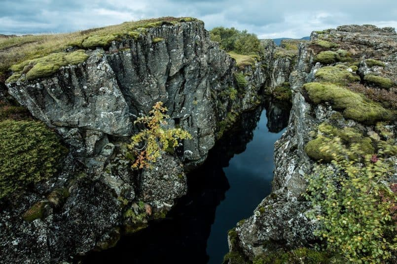 Silfra - The Fissure Between North American and Eurasian Plates