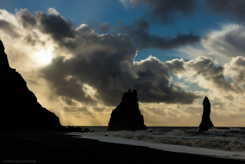Reynisdrangar - Basalt Sea Stacks