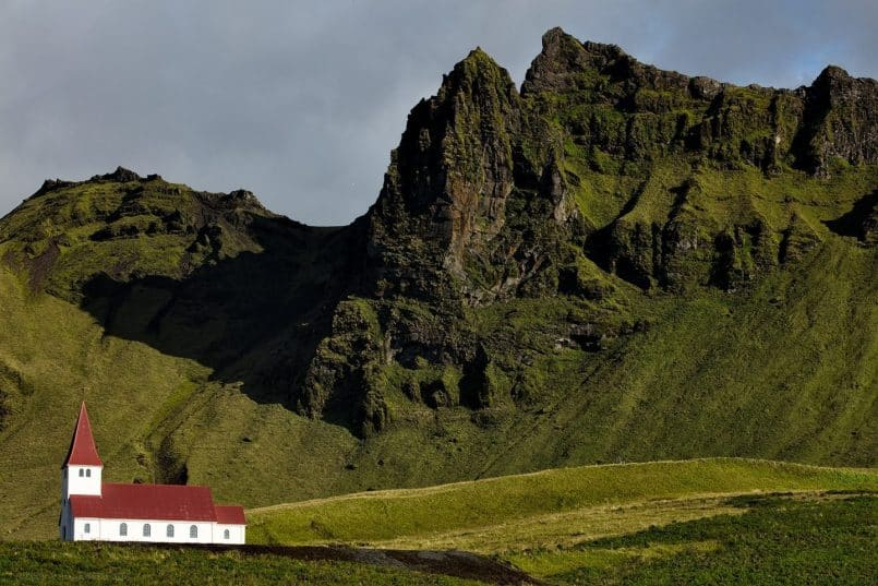 Church at Vík í Mýrdal