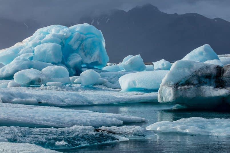 Jökulsárlón Icebergs - Jabawaki
