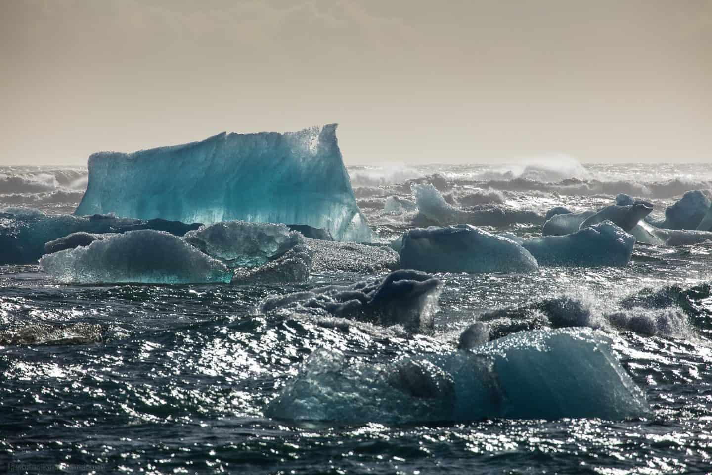 Iceberg from Vatnajökull