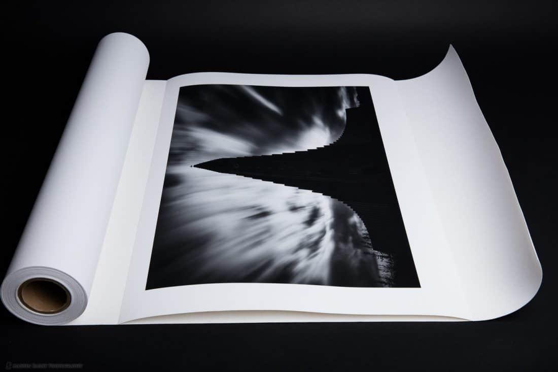 Lay Print on Decurler