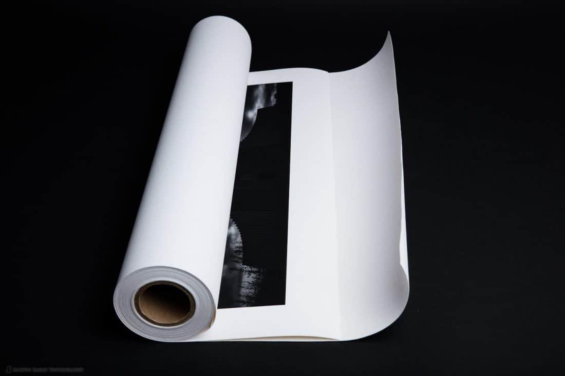 Roll Print Into Decurler