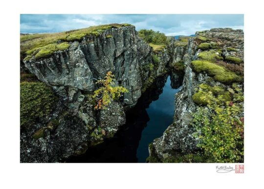 Silfra - The Fissure Between the North American and Eurasian Con