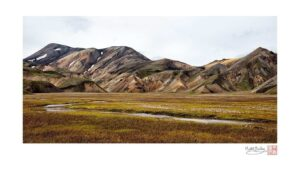 Landmannalaugar with Stream