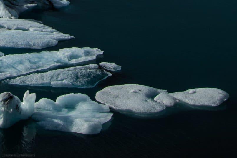 Jökulsárlón Glacial Lagoon 100% Crop