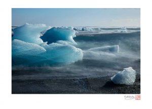 Growlers in Icelandic Sea