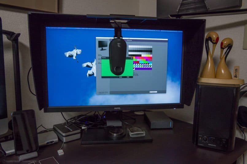 Calibrating the BenQ SW2700PT Display