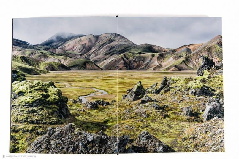 Iceland Book Double Page