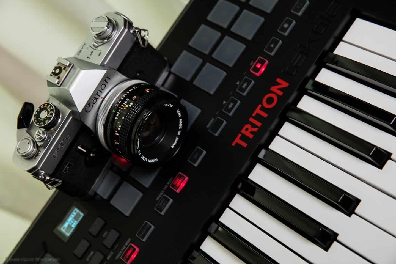 Camera and Keyboard