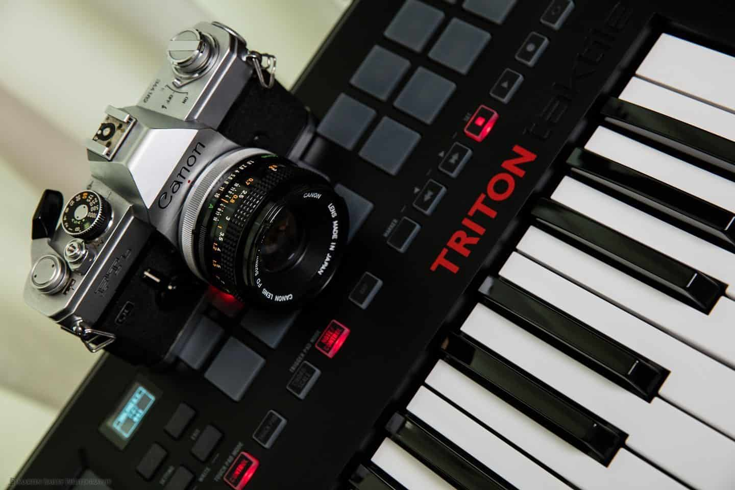 Camera and Keyboard