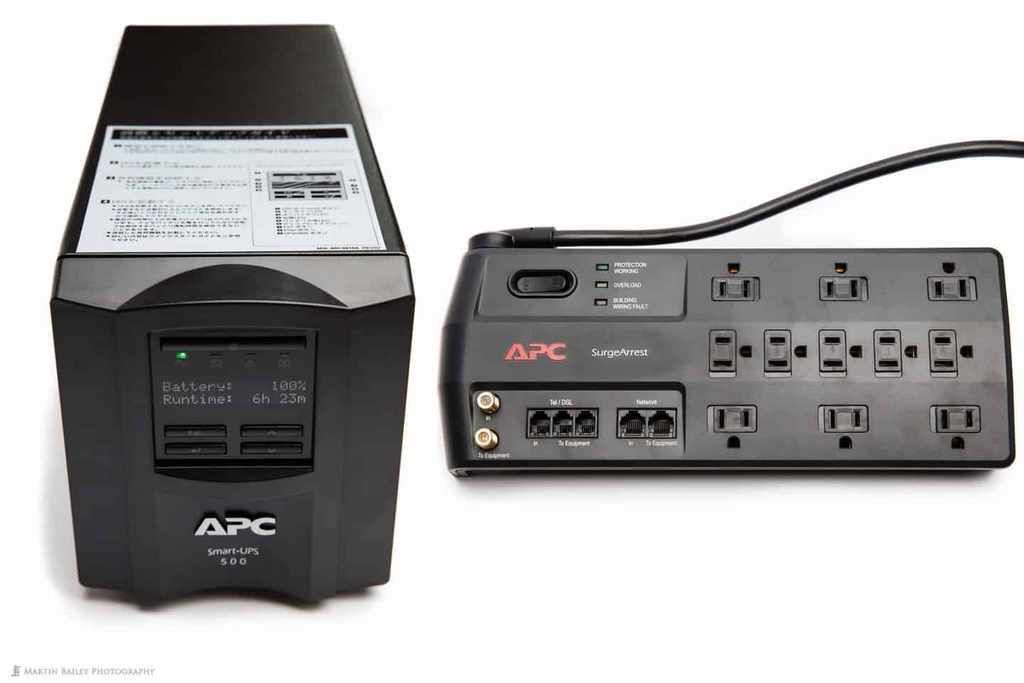 APC Smart UPS 500J and SurgeArrest Power Strip