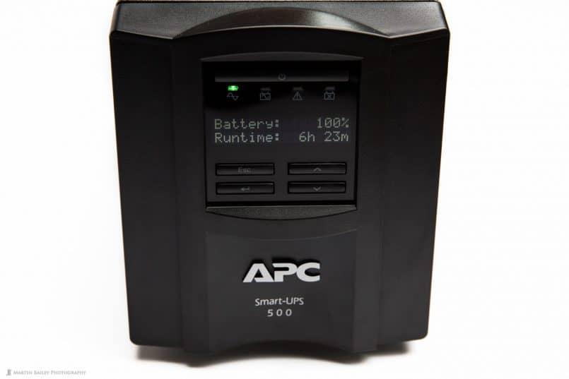 APC Smart UPS 500J Front Panel