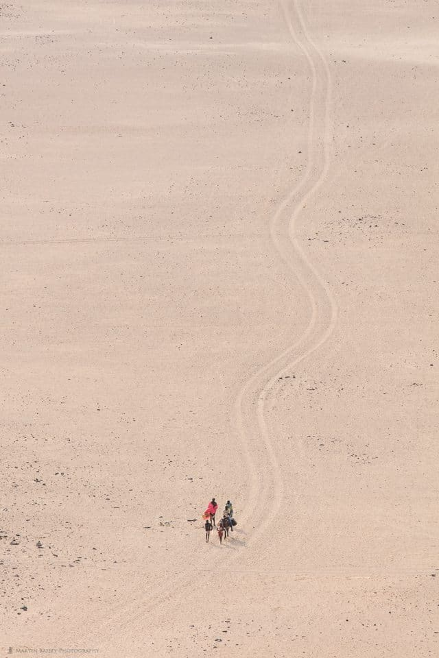 Himba People Fetching Water