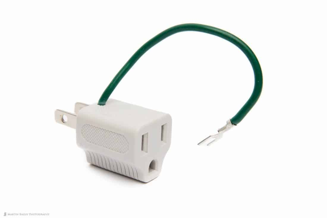 3 to 2 Pin Plug Adapter