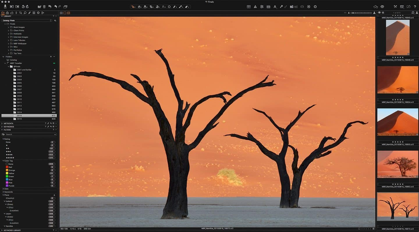 Capture One Pro 9 Screenshot