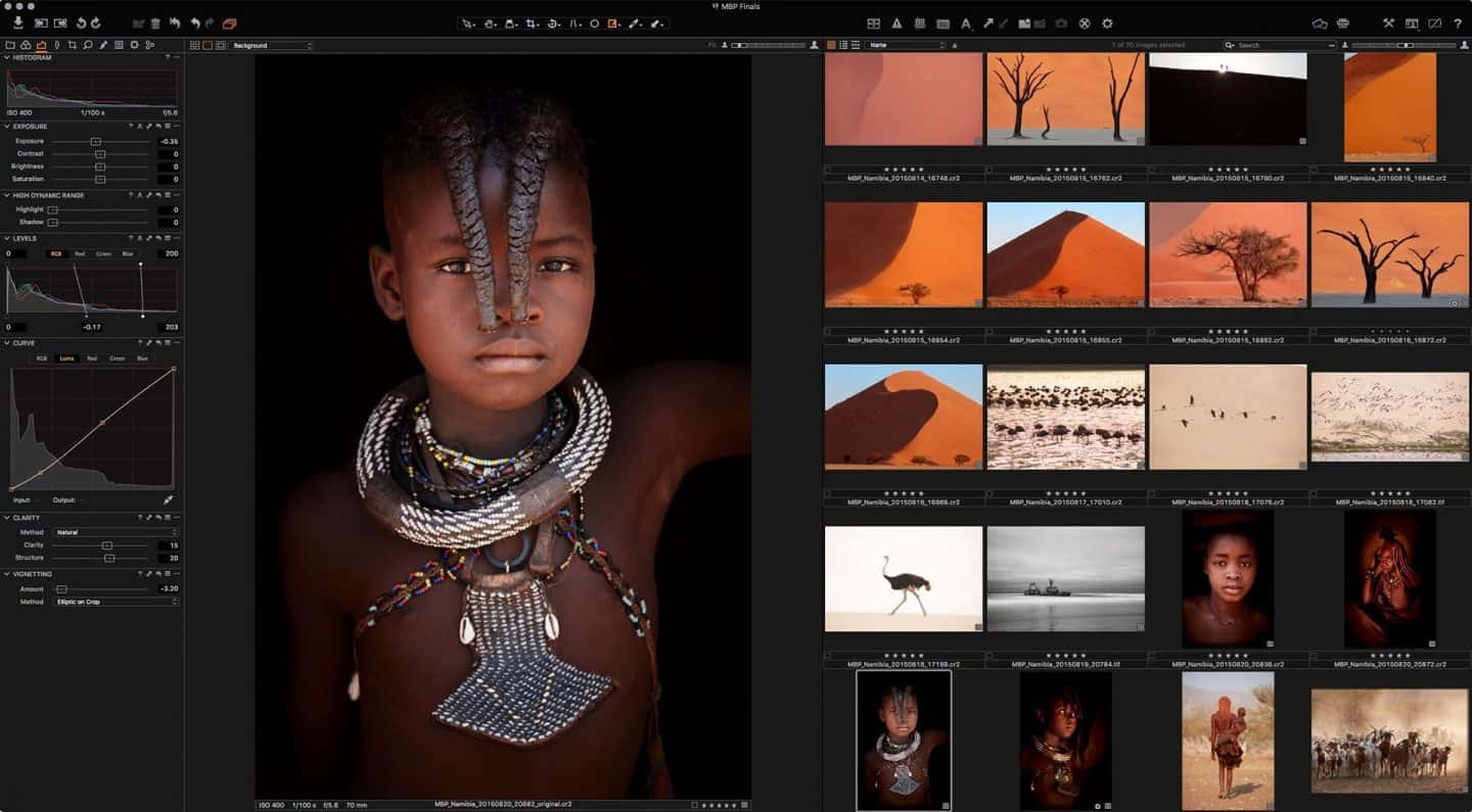 Capture One Pro 9.2 Screenshot