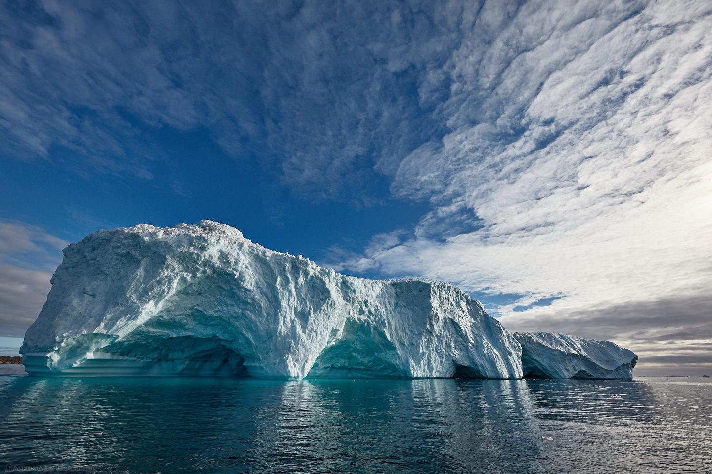 Monumental Iceberg with Big Sky