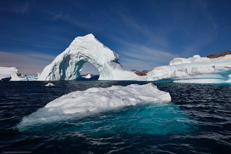 Icebergs Near Takiseq