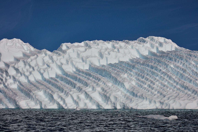 Heavily Textured Iceberg