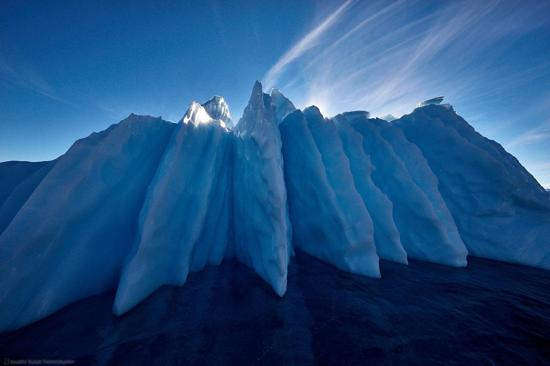 Serrated Iceberg