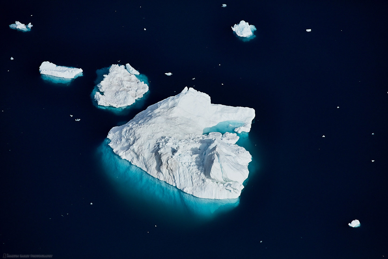 Icerbergs Aerial