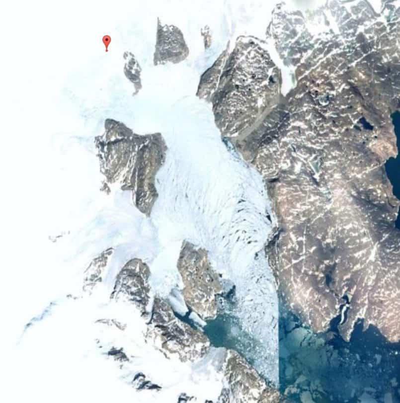 Greenland Johan Petersen Fjord Glacier