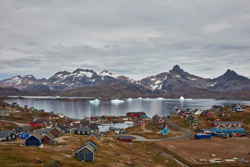 The Town of Tasiilaq - East Greenland