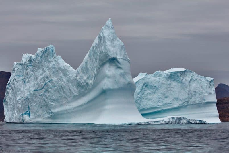 Viking Warrior Iceberg