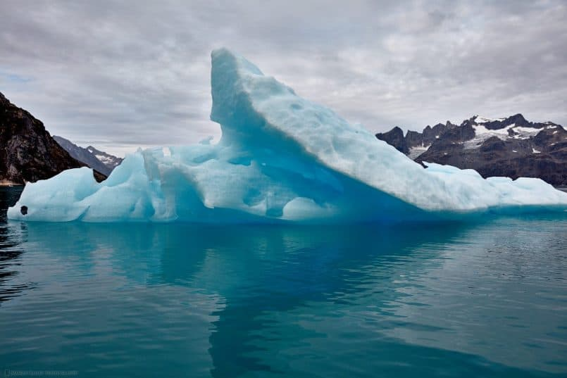 Iceberg on the Sermiligaaq Fjord