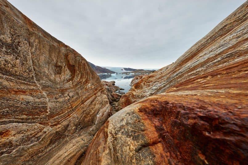 Greenlandic Slot Canyon