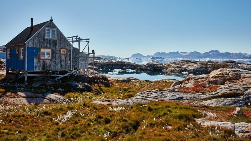House in Tiilerilaaq
