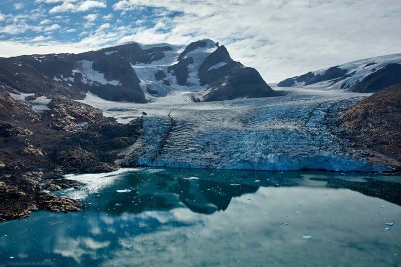 The Hann Glacier