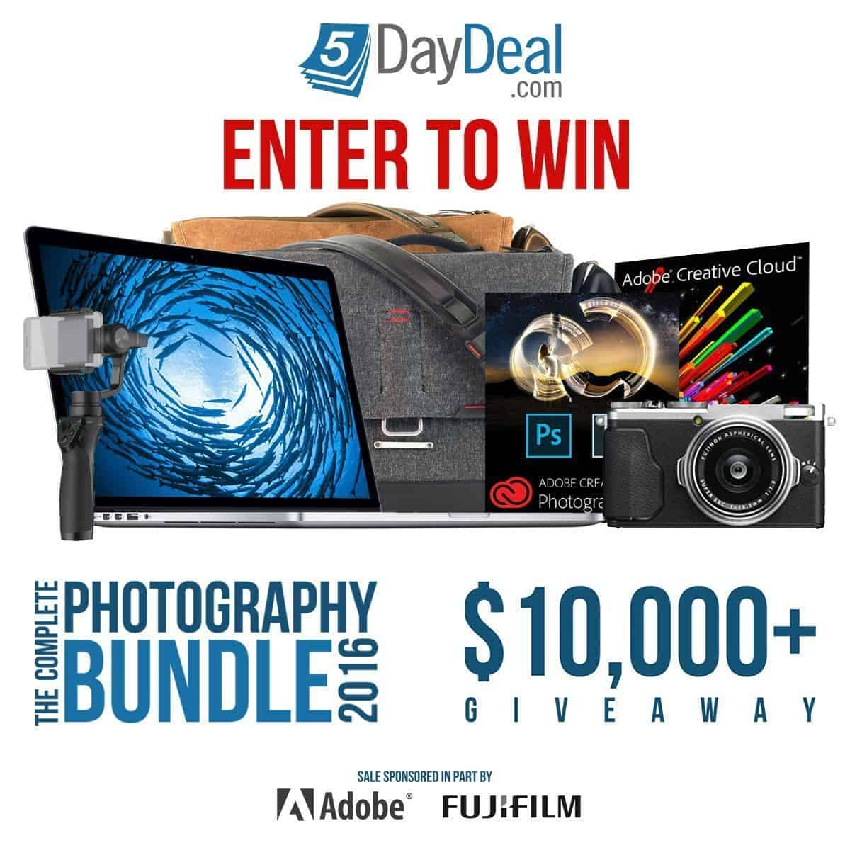 5DayDeal 2016 Giveaway!